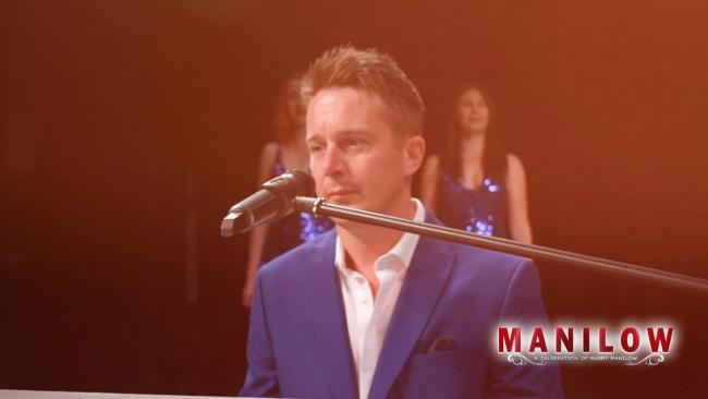 Philip Hawkins who will be celebrating the music of Barry Manilow at the King's Hall, Ilkley in August