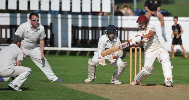 James Massheder, pictured here batting, took 6-22 with the ball for Yeadon on Saturday