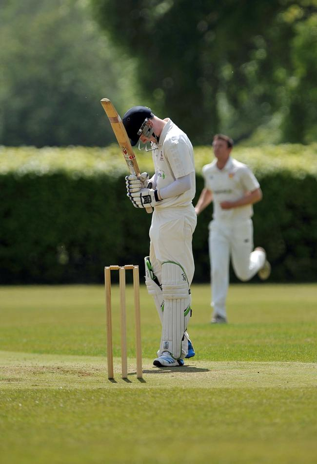 Despite notching 58 runs, Ilkley's William Spivey was unable to prevent a loss for his side.
