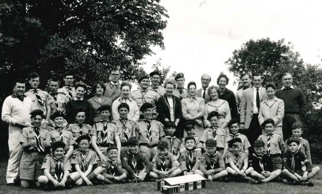 Bramhope scouts 1964