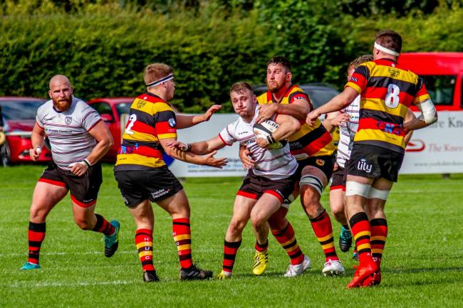 Ilkley need to toughen up this season, according to head of rugby Rhys Morgan. Picture: ruggerpix.com