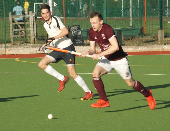 Matty Bairstow (right) set up a goal in Ben Rhydding's win at Wilmslow