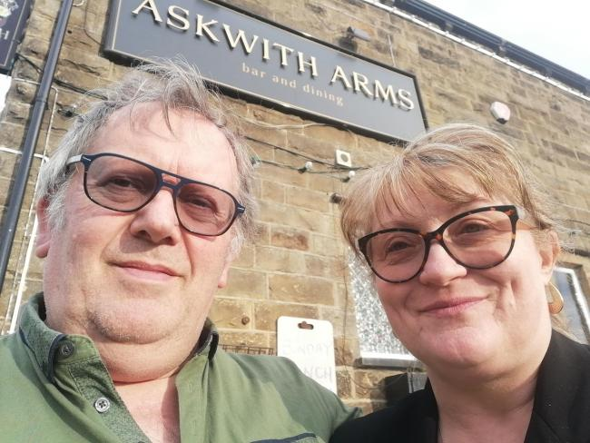 John and Jane Allen - licensees of the Askwith Arms
