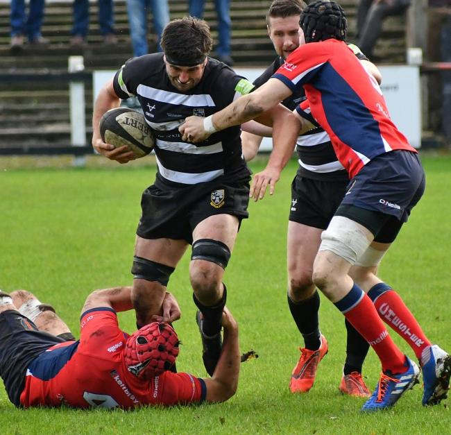 Freddie Watson scored a try for Otley against Luctonians on Saturday. Picture: Richard Leach