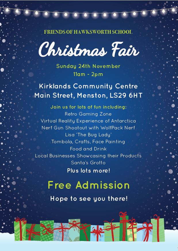 Hawksworth C of E Primary School Christmas Fair