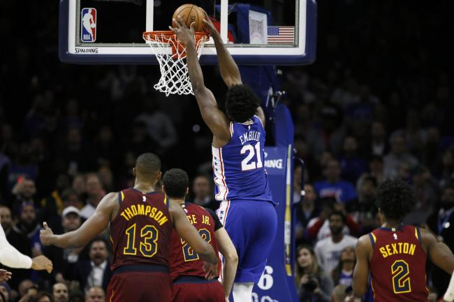 Cavaliers 76ers Basketball