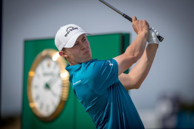Matt Fitzpatrick is chasing a first win of the season in South Africa