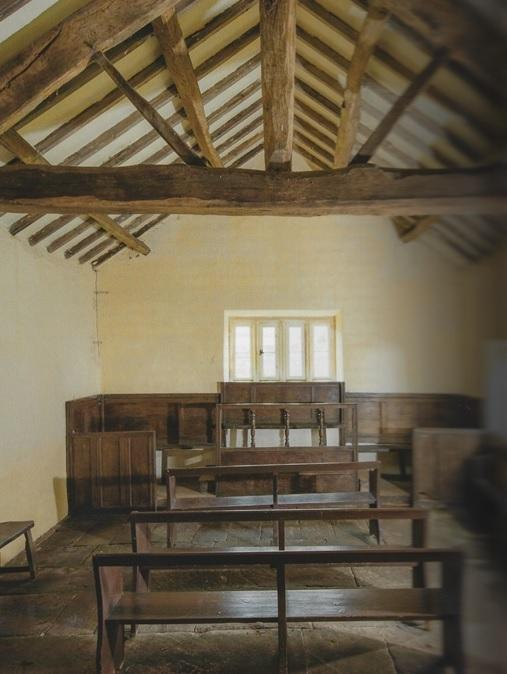 Farfield Meeting House pictured before the renovation. Photo courtesy of Historic England