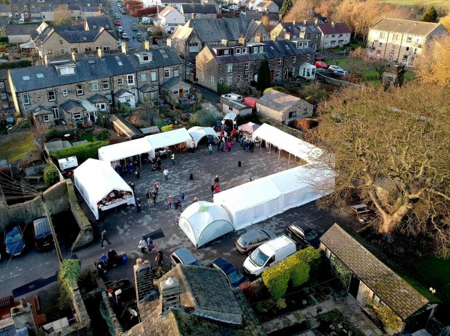 The seventh Addingham Christmas market and lights switch-in takes place on November 23