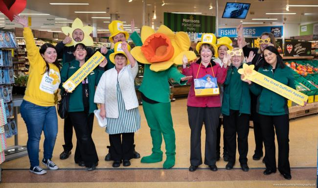 The Marie Curie appeal at Morrisons