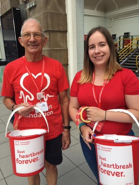 Can you spare a few hours to collect money for the British Heart Foundation?