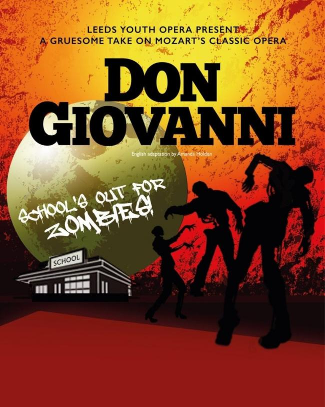 Don Giovanni, Leeds Youth Opera, Carriageworks, Leeds,