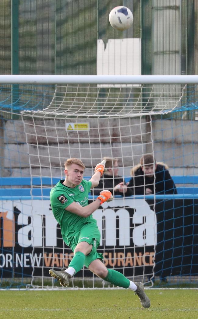 Goalkeeper Brad Wade was on-loan at Guiseley last season. Picture: Alex Daniel