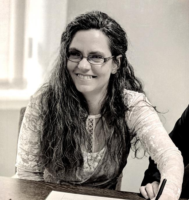 Local writer Melanie Shearn