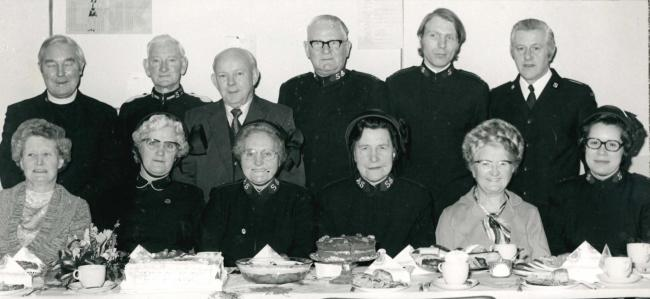 THE Salvation Army Silver Threads Annual Tea was the focus of this photograph taken in the late 1960s or early 1970s. No details survive with the picture which is from the archives of the Wharfedale Observer.The Salvation Army traces its roots to the stre