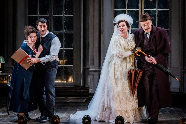 Opera North's production of the Marriage of Figaro
