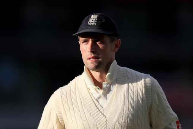 England all-rounder Chris Woakes.
