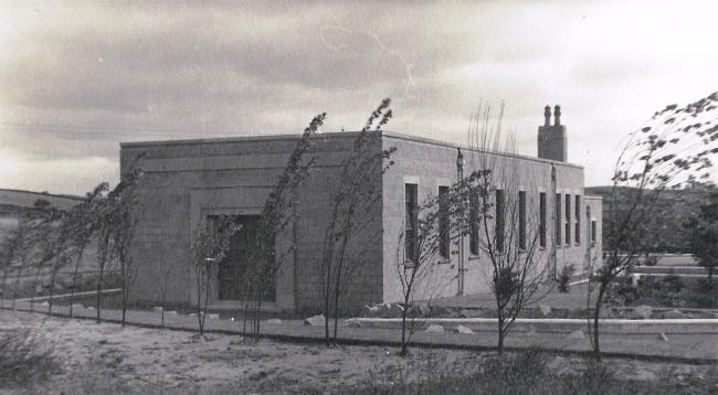 THIS photograph dating back to 1936 shows the exterior of the Filter House at Hawksworth.