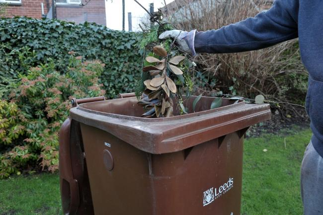 Set to restart - brown bin collections. Leeds City Council