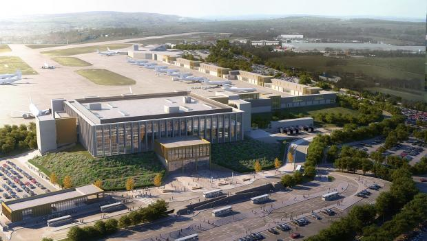 How the new terminal at Leeds Bradford Airport could look.