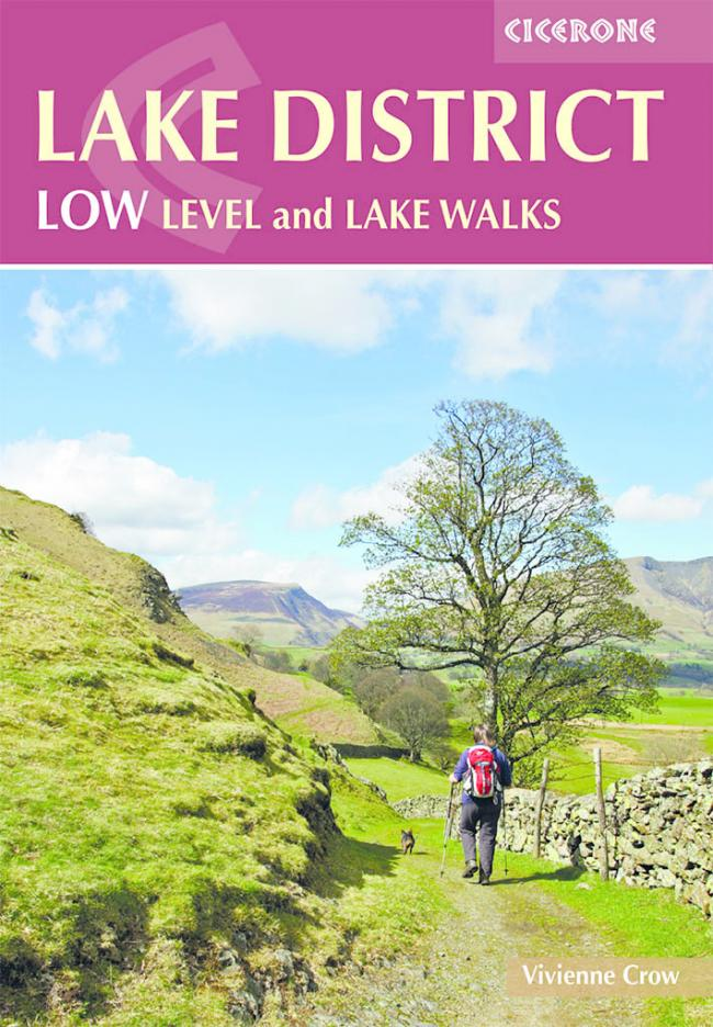 The cover of Lake District Low Level and Lake Walks by Vivienne Crow