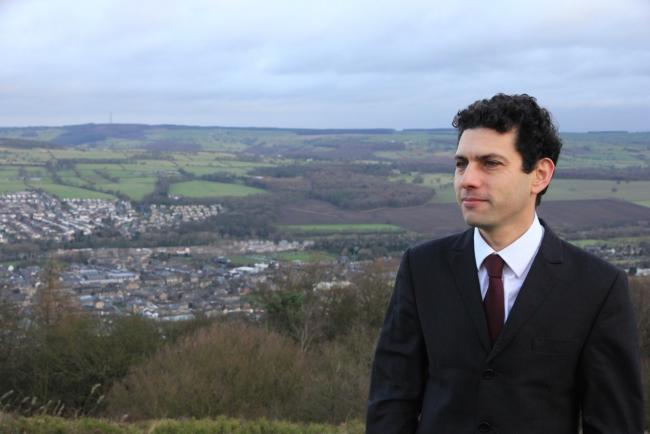 MP Alex Sobel on Otley Chevin