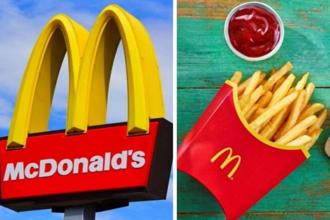McDonald's cuts prices of cheeseburgers and McFlurries to 50p for August