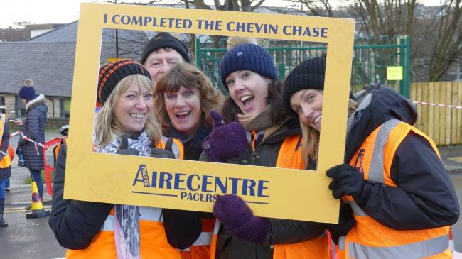 Fun at a previous Chevin Chase