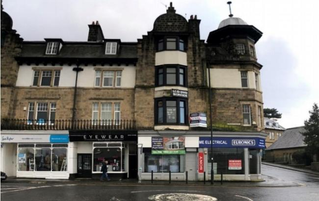 The building on Cowpasture Road in Ilkley