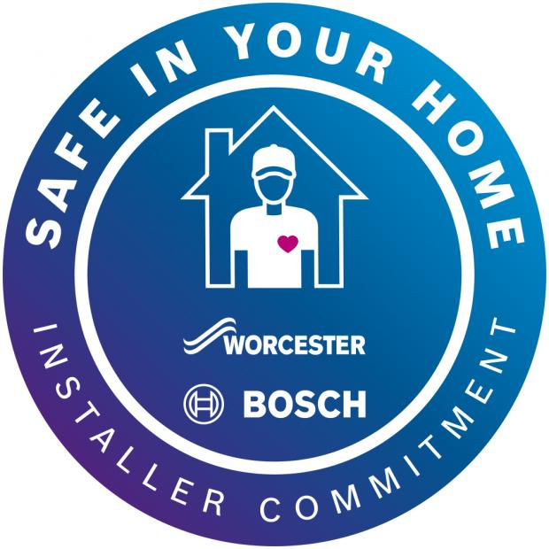 Ilkley Gazette: Look out for installers with the Safe in your home pledge logo