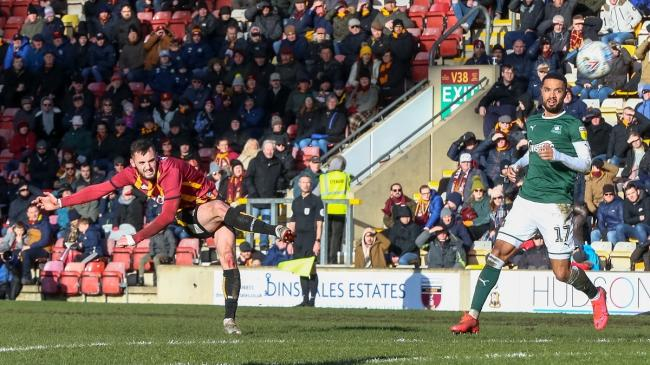 City's last home game in front of fans was nearly nine months ago, a 2-1 win over Plymouth Argyle Picture: Thomas Gadd