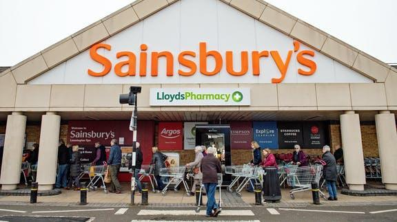 Sainsbury's announce 1,150 jobs at risk amid supermarket restructuring. (PA)