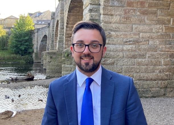 Matt Robinson, who has been chosen as the Conservative candidate to contest the West Yorkshire mayoral election