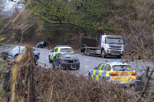 Police are continuing to investigate the Addingham crash which killed two people last week