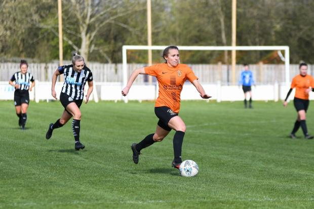 Brighouse Town Women in FA Cup action against Newcastle United earlier this month. Picture: Liam Ford.