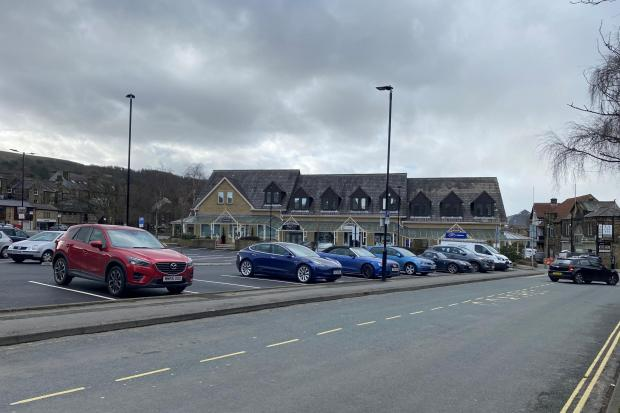 Cars parked in the South Hawksworth Street car park in Ilkley which generates the highest income in the Bradford district