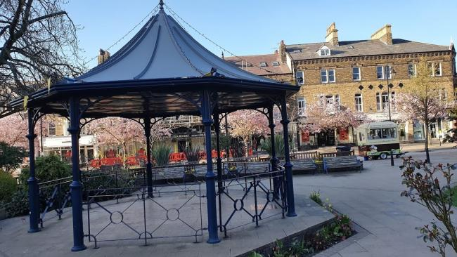 Ilkley Bandstand Trust is appealing for people to respect the site