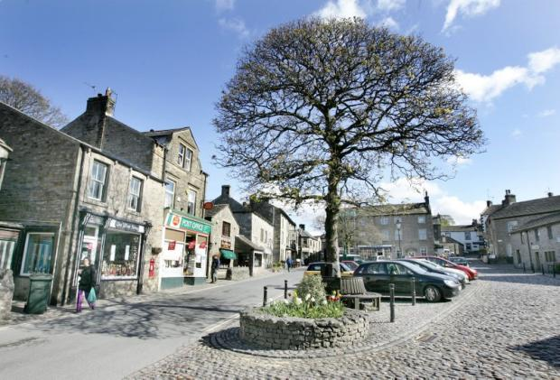 Ilkley Gazette: Grassington in the Yorkshire Dales