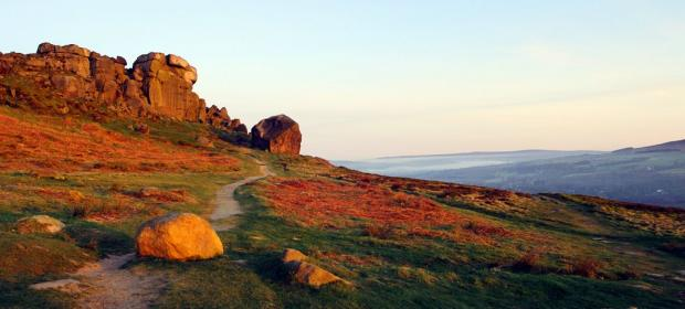 People will watch the sun rise at the Cow and Calf rocks on Easter Morning