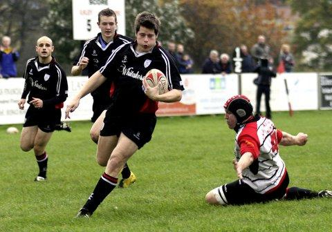 Stuart Vincent made his return. Picture: ruggerpix.com