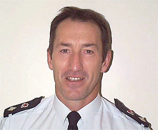 Chief Superintendent Barry South