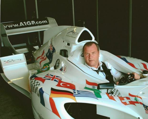 Steve Stringwell will be keeping the Formula One stars in line