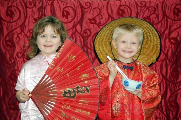 Celebrating Chinese New Year at Westville House School, Ilkley.