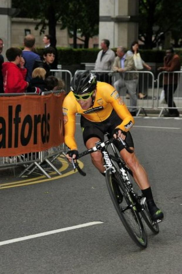 Scott Thwaites leading in Torquay. Picture: velouk.net