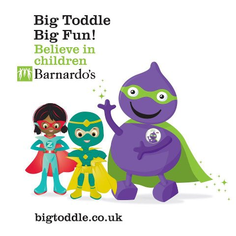 Call for little astronauts to join Barnardo's Big Toddle