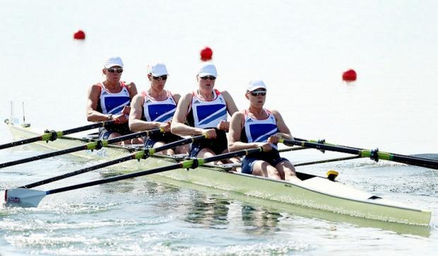 Great Britain's women's quadruple scull, which included Guiseley's Debbie Flood, were outclassed in today's final