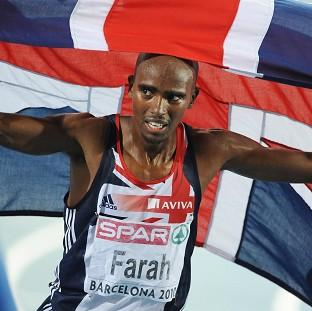 Mo Farah won the 10,000m gold medal on Saturday evening