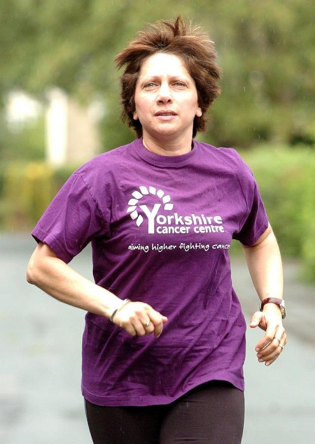 Kim Robson, who lost her brave battle against cancer in 2009