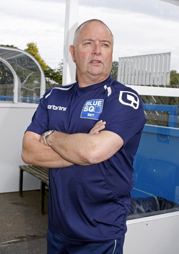 Guiseley manager Steve Kittrick