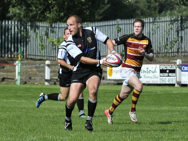 Tom Rock has seen Otley make good progress